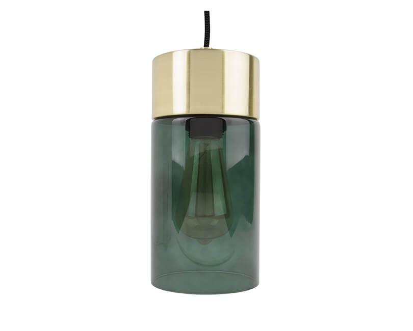 Levně Muzza Stropní lampa lax zelená