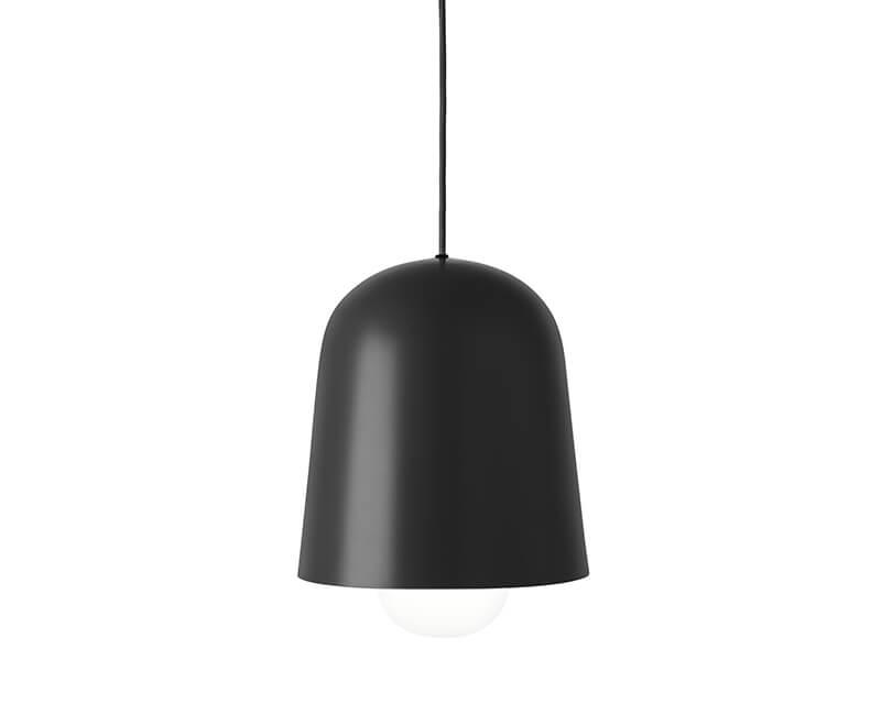 Levně Muzza Stropní lampa cone černá