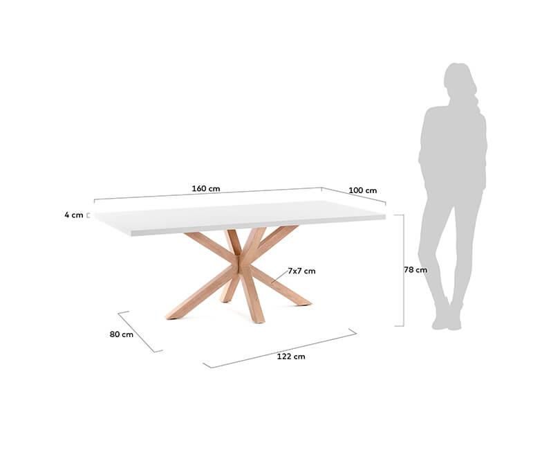 JÍDELNÍ-STŮL-ARYA-TABLE-160X100-BÍLÝ,-PŘÍRODNÍ_3