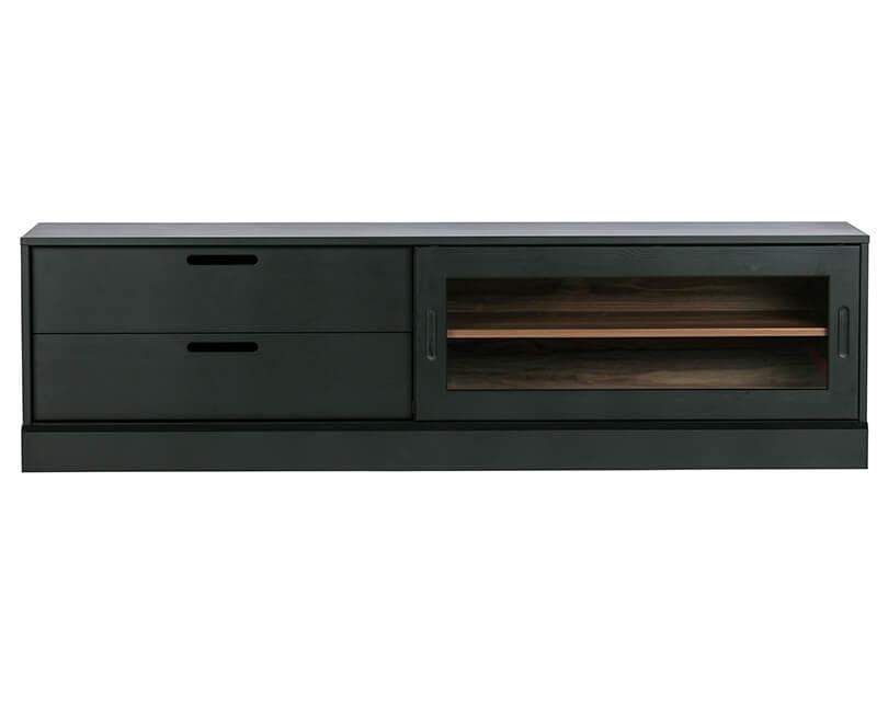 Levně Muzza Televizní skříňka james 180 x 42 černá
